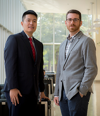 Ricky Tan and Ben Horwitz