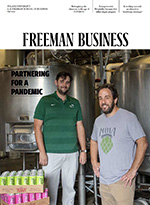 cover of the fall 2020 issue of Freeman Business magazine